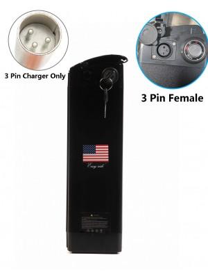 48V13Ah lithium battery for folding bike 3 Pin Female