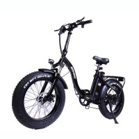 "48V500W12AH 20""x4.0 Fat Tire Folding Electric Bicycle"