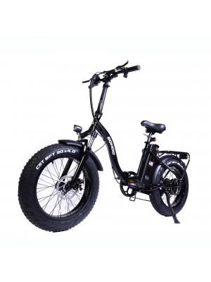 "48V500W12AH 20""x4.0 Fat Tire Folding Electric Bicycle"