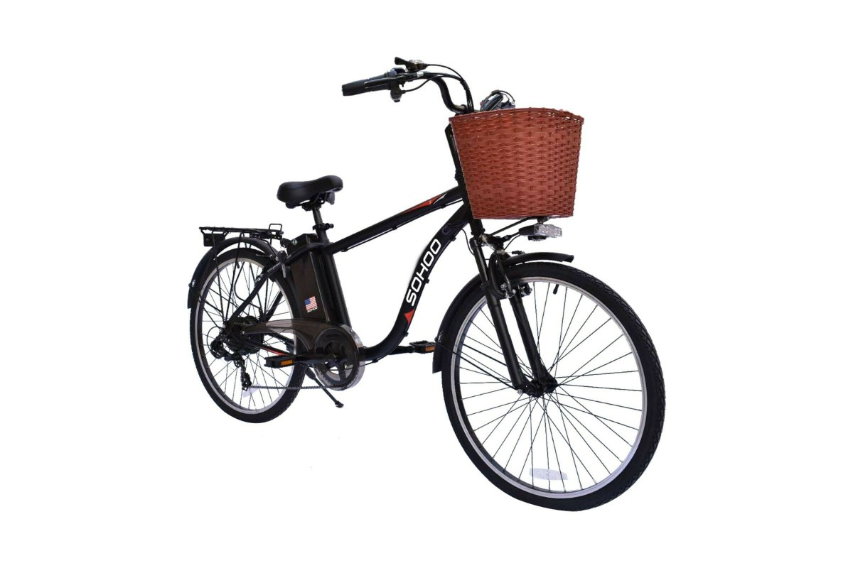 """SOHOO 36V350W10A 26"""" Electric Bicycle"""